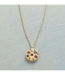 precious palette necklace