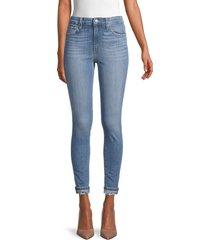 joe's jeans women's high-rise skinny jeans - blue - size 24 (0)