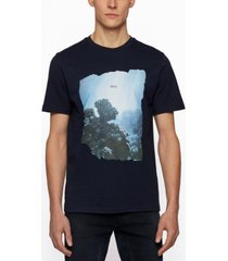 boss men's coastline art regular-fit t-shirt