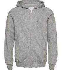 branch hooded sweatshirt hoodie trui grijs makia