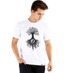 camiseta ouroboros manga curta árvore da vida