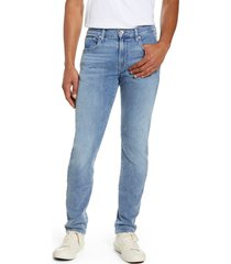 7 for all mankind (r) adrien slim fit clean pocket skinny jeans, size 40 in bignell at nordstrom