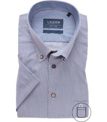 korte mouwen overhemd ledub non iron modern fit