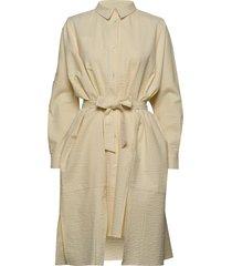 seffern dress jurk knielengte beige holzweiler