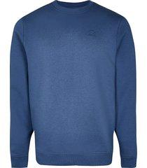 river island mens blue slim fit sweatshirt