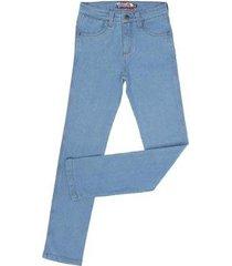 calça jeans delavê rodeo western masculina