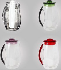 jarra com suporte para gelo 2,5l em acrílico bky223