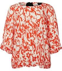 blouse bedrukte