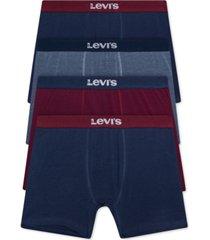 levi's men's 4-pk. boxer briefs