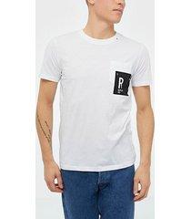 replay m3009 t-shirt t-shirts & linnen white
