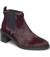 town chelsea pony shoes boots ankle boots ankle boot - heel lila royal republiq