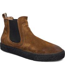 sluggish stövletter chelsea boot brun sneaky steve