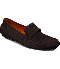 agira carshoe loafers låga skor brun morris