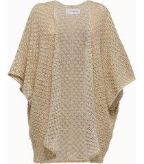 sundress cardigan in maglia di cotone