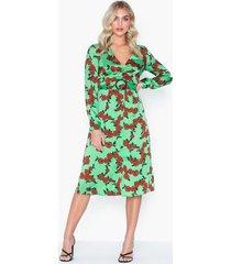 glamorous v neck long sleeve dress maxiklänningar
