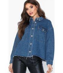 only onlike ls cargo dnm jacket bj1381 jeansjackor