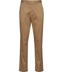 aiden slim rapid movement chino chinos byxor beige banana republic