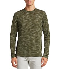 collection space dye long sleeve sweater