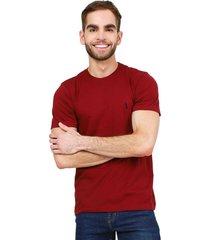 camiseta vinotinto colore