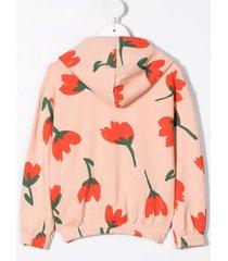 bobo choses big flowers all-over print jacket