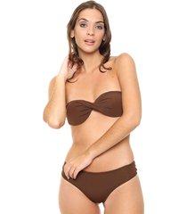 bikini marrón lecol penny