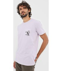 camiseta billabong dominical roxa