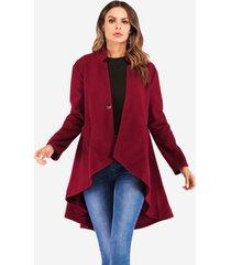 cappotto di moda per donna irregolare