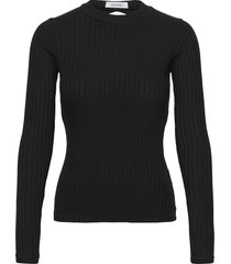 rodebjer khrystyna t-shirts & tops knitted t-shirts/tops svart rodebjer
