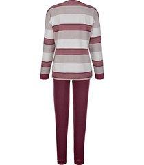 pyjama hajo bordeaux::ecru