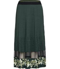 boniiee knälång kjol grön ted baker