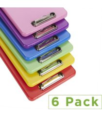 mind reader 6 pack clipboard storage, assorted colors