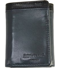 duchamp london men's rfid genuine leather tri-fold wallet