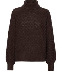 greger sweater stg turtleneck coltrui bruin iben