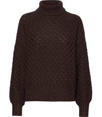 greger sweater stg turtleneck coltrui bruin iben