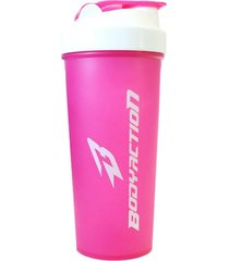 coqueteleira 600ml body action rosa