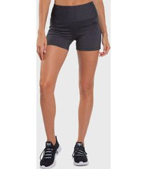 legging everlast short basic gris - calce ajustado