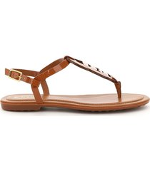 tods chain thong sandals