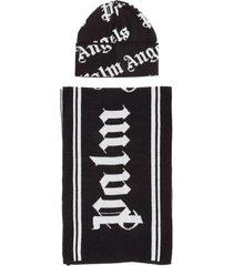 completo cuffia sciarpa uomo classic logo