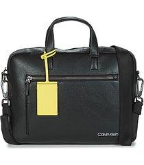 aktetas calvin klein jeans ck qt pocket laptop bag