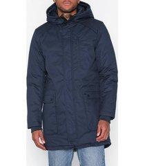 selected homme slhvinyl jacket b jackor mörk blå