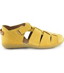 sandalia amarilla briganti agua patagona