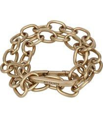 women's allsaints double chunky chain link bracelet