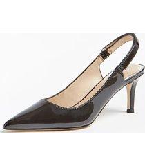 lakierowane buty na obcasie model deaga