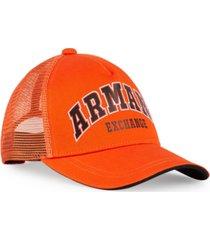 ax armani exchange ax jersey logo hat