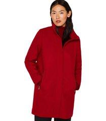 abrigo casual rojo esprit