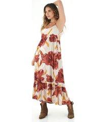 vestido  para mujer tennis, vestidos larga estampado flores grandes