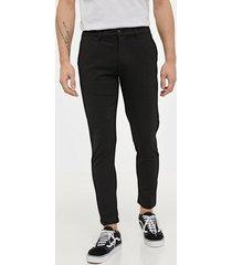 solid pants - dave barro cr byxor black