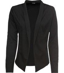 blazer in jersey (nero) - bodyflirt