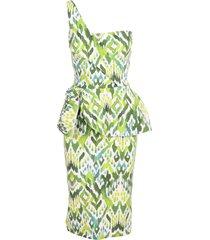 la petit robe di chiara boni le petite robe di chiara boni chaz print polyamide dress