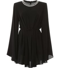 stella mccartney shaniya mini dress with crystals